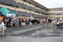 Honolulu District family members and District co-workers welcomed home the 565th Engineer Detachment Forward Engineer Support Team-Advance (FEST-A) from their nine-month deployment to Afghanistan Jan. 24 in front of District headquarters at Fort Shafter. At the redeployment ceremony Pacific Ocean Division Commander Col. Gregory J. Gunter praised the detachment's spirit of volunteerism.